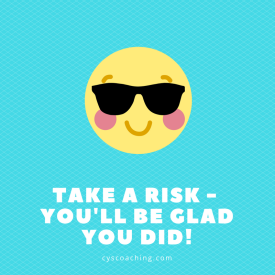 take a risk quote