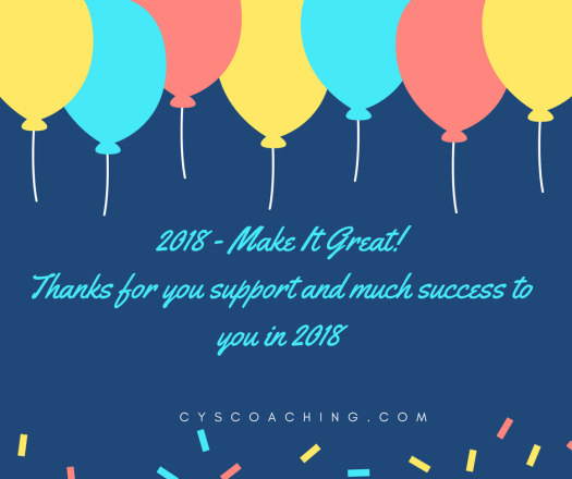 2018 - Make It Great!